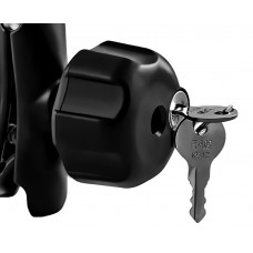 "Locking Knob 1/4""-20 Steel Insert for 1"" B Size Balls"